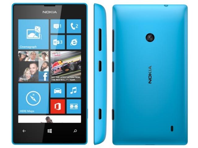 lumia 520 mavi